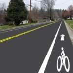 City to get first bike lanes on street