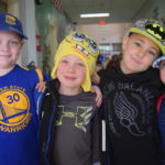 Dobson students hold Hats for Hunter Day