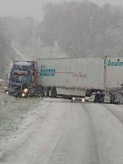 Late-season snow wreaks havoc   Mt  Airy News