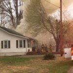 Pittman Street fire displaces three
