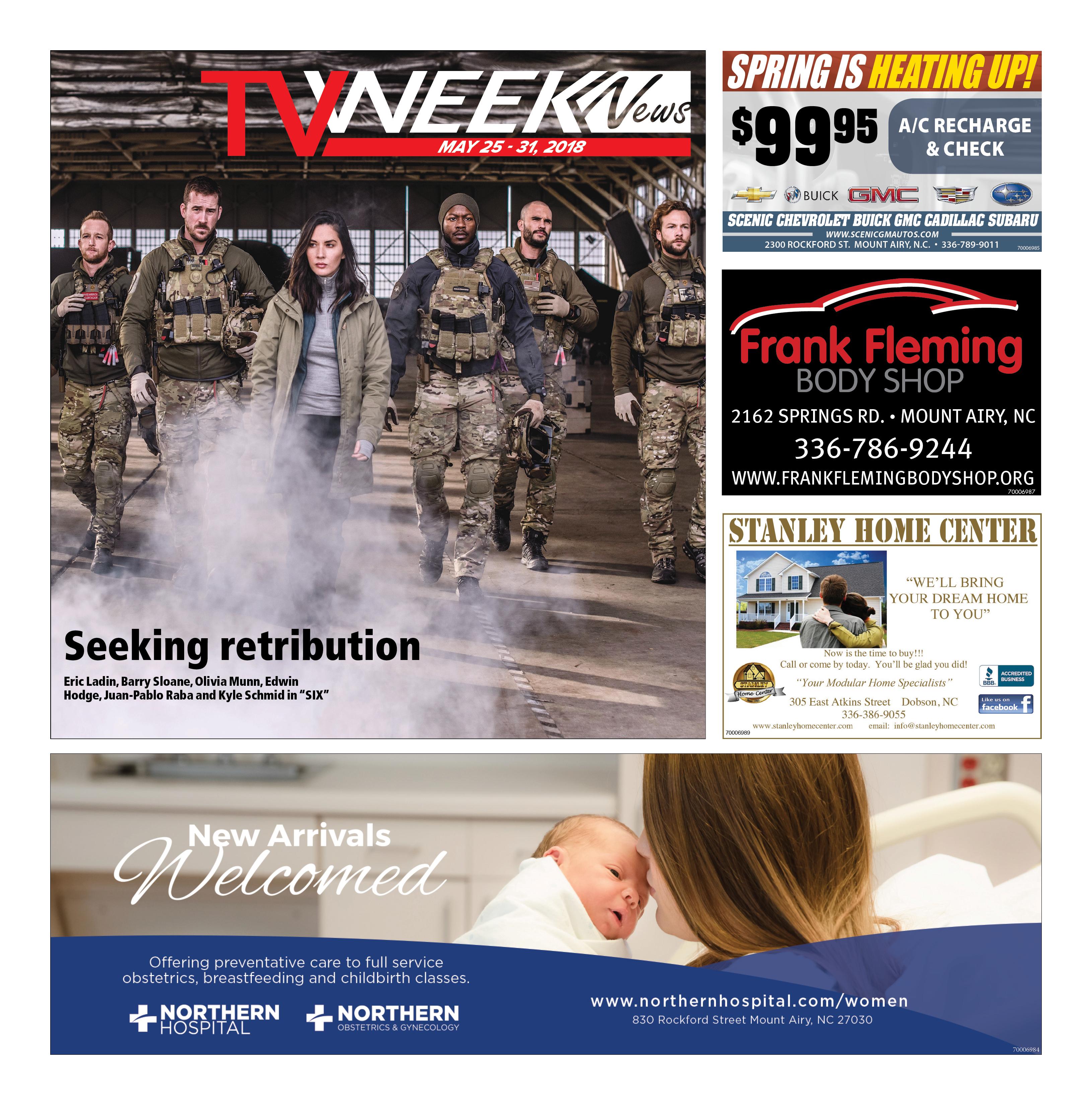 TV WEEK News May 25 – 31, 2018