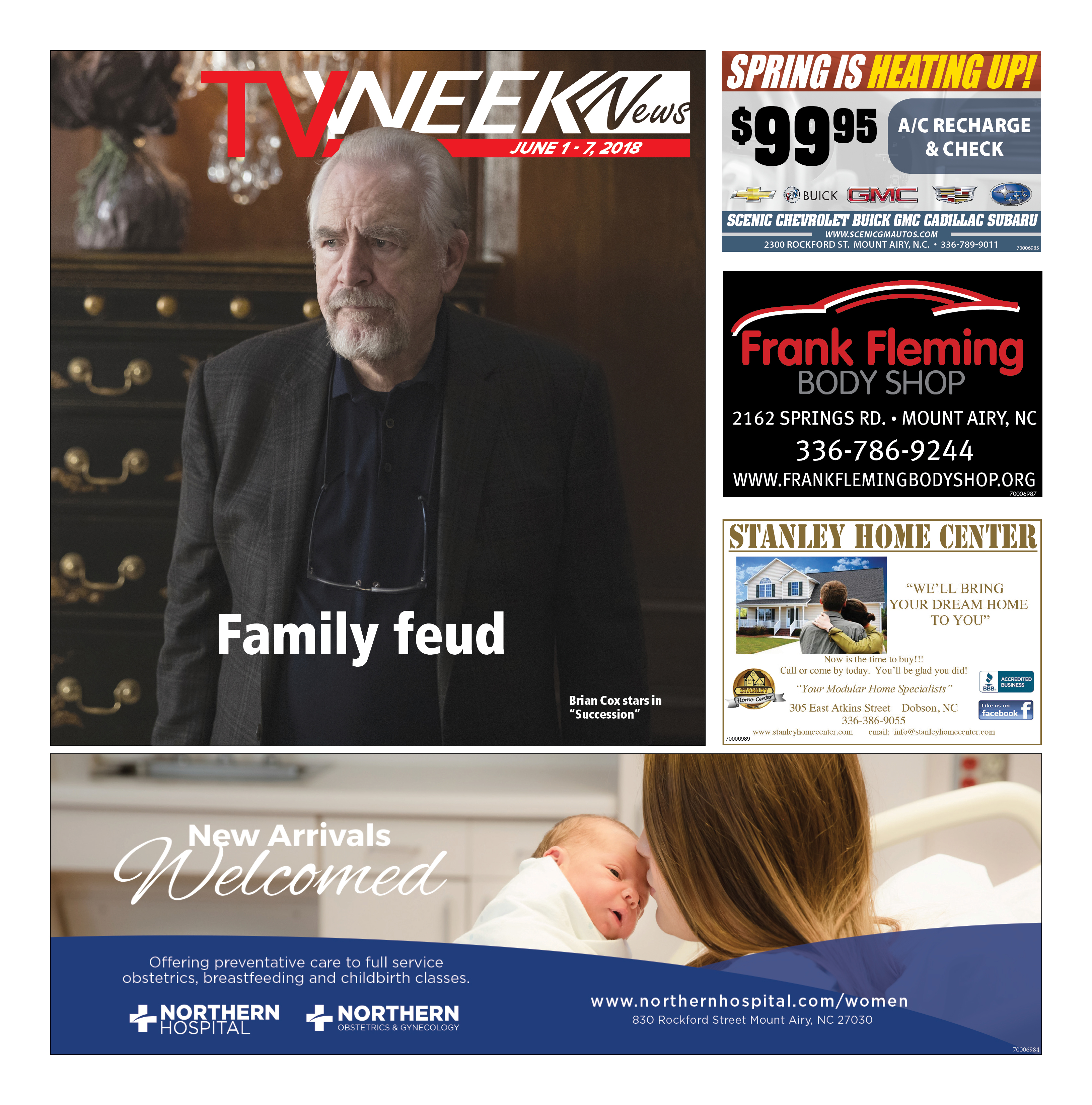 TV Week News June 1 – 7, 2018