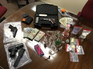 Five arrested through drug sting