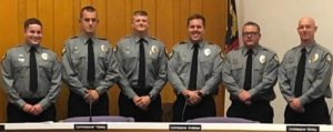 Fire department promotions announced