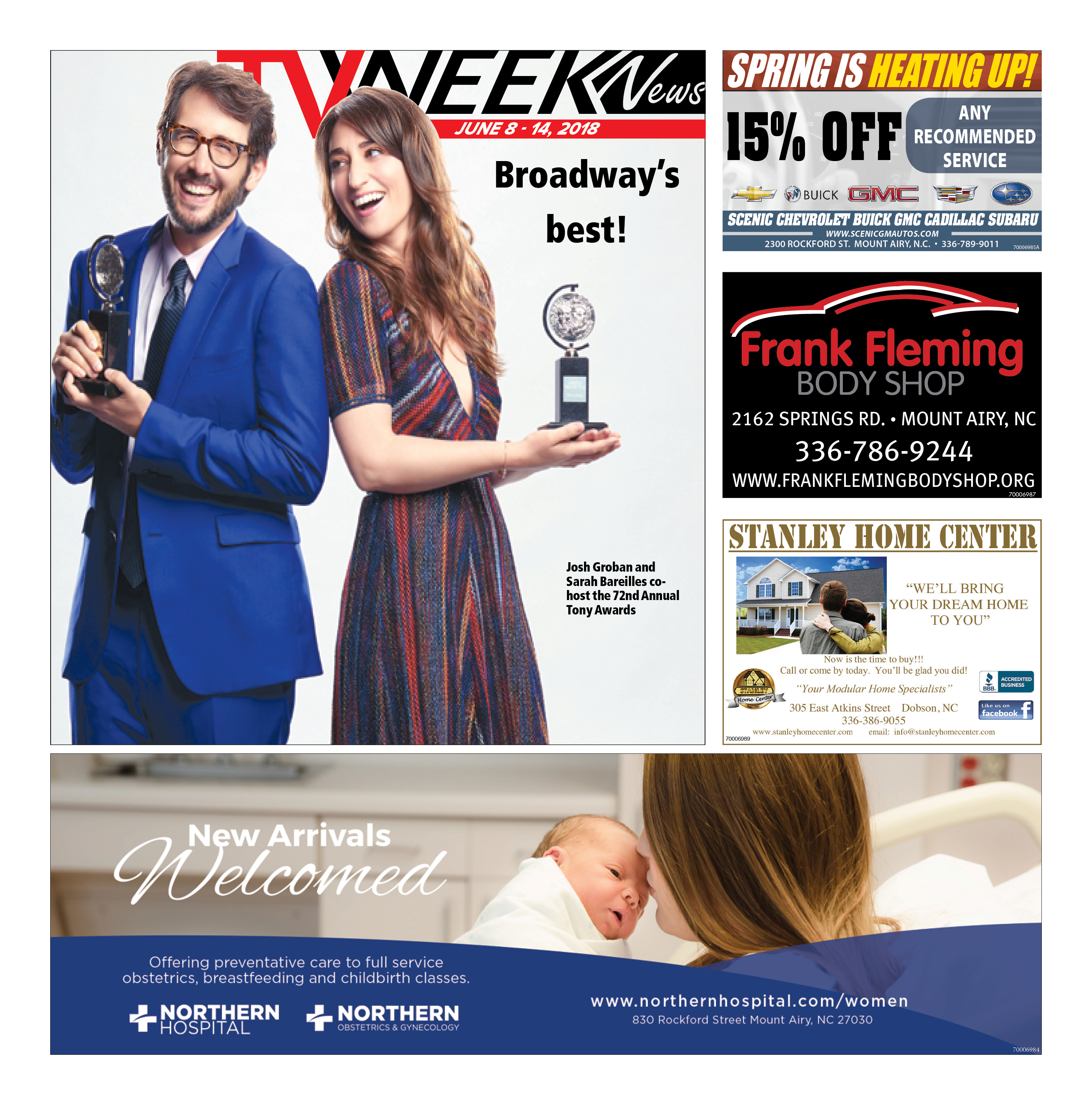 TV WEEK News June 8 – 14, 2018