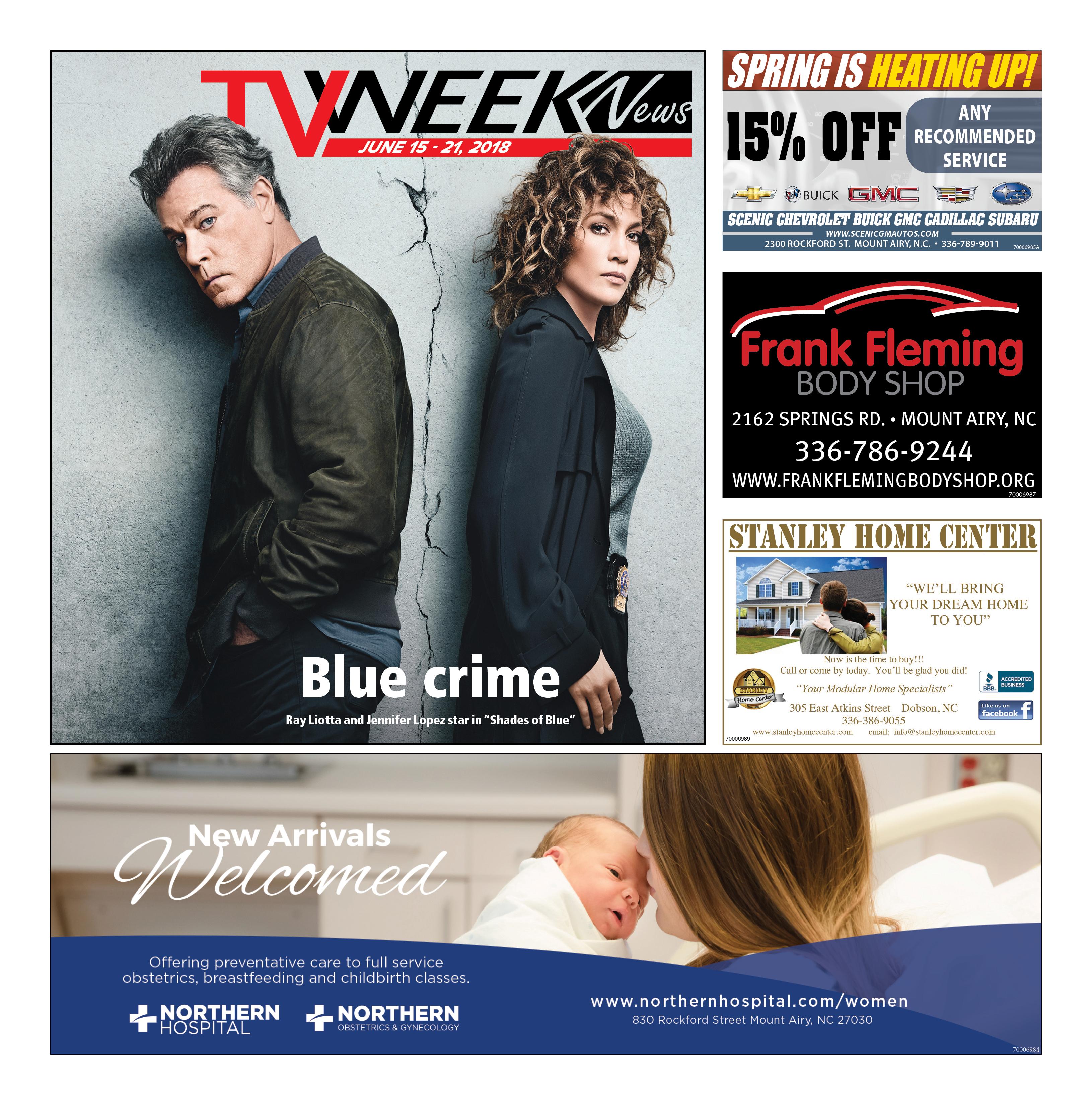 TV WEEK News June 15 – 21, 2018