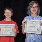 Local youth claim history awards