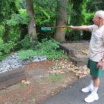 Erosion threatens local home