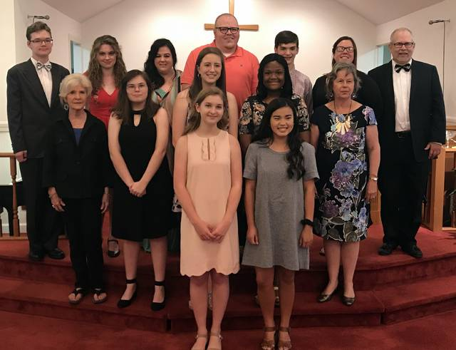 Music students offer concert at church | Mt  Airy News