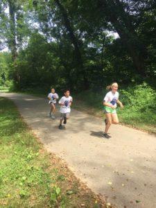 Jones running club holds a 5K