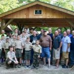 Elks supply scout shelter at Raven Knob