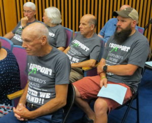 Board alters prior vote, OKs shelter plan