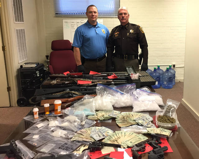 Record drug bust in Red Brush | Mt  Airy News