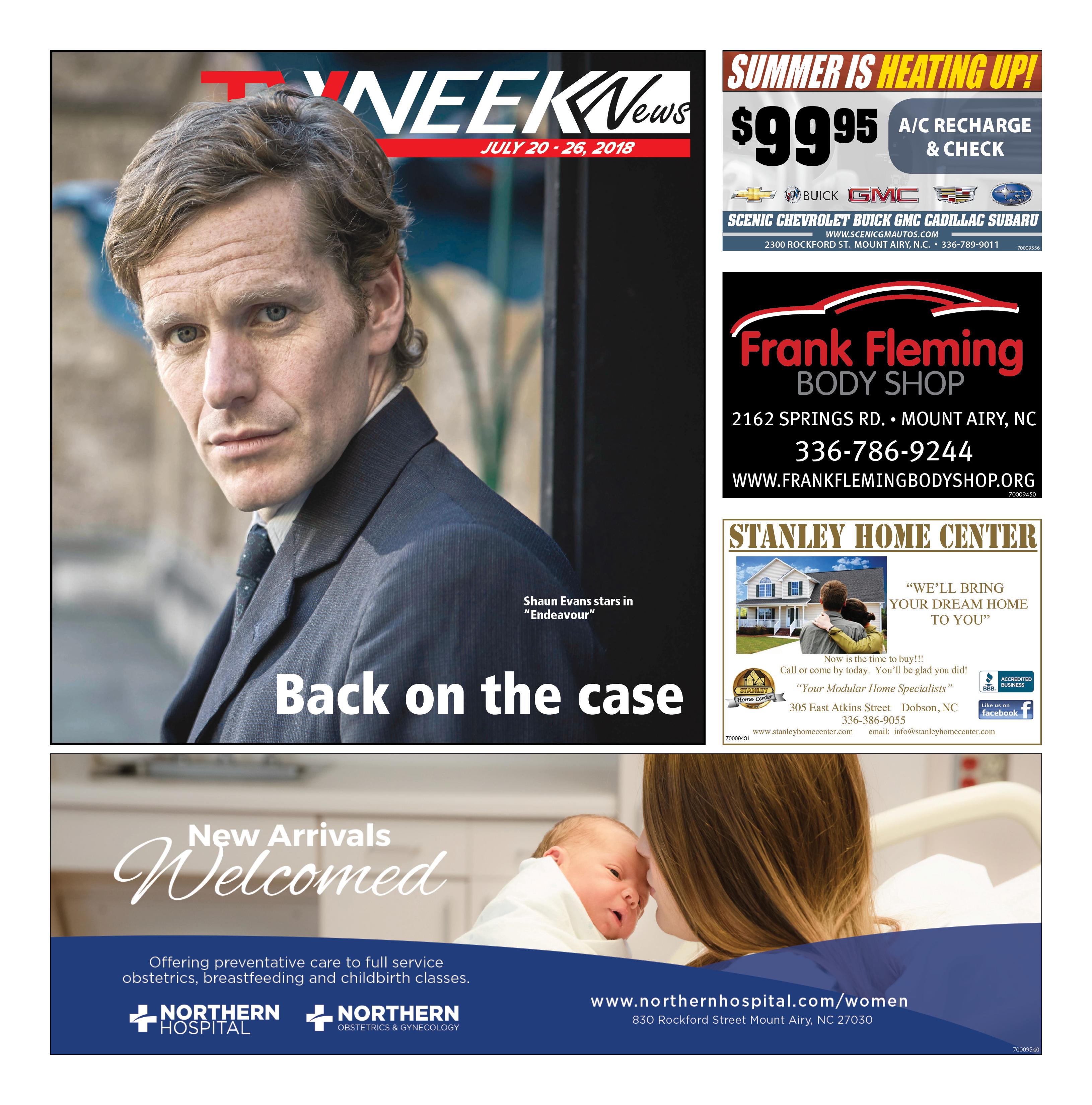 TV WEEK News July 20 – 26, 2018