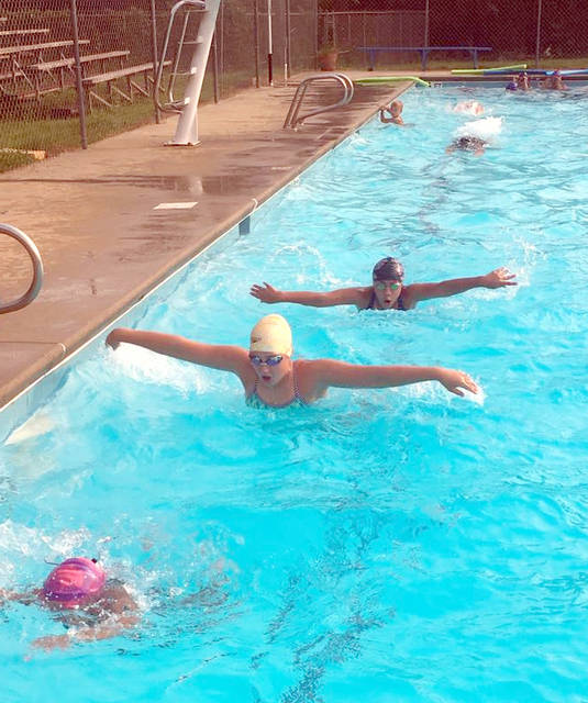 Busy Slate For Local Swim Teams Mt Airy News