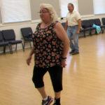 Line dancers have fun, improve health