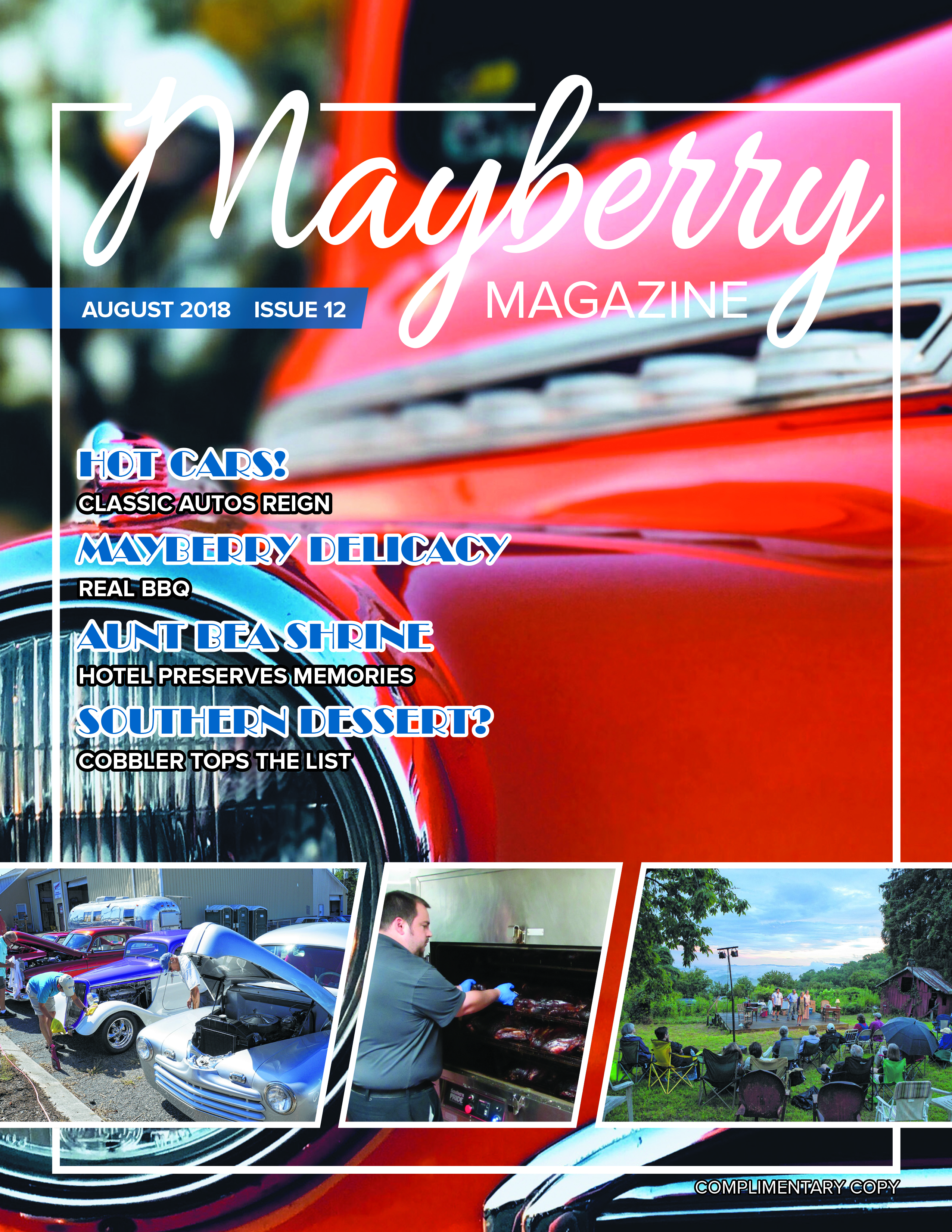 Mayberry Magazine – August 2018