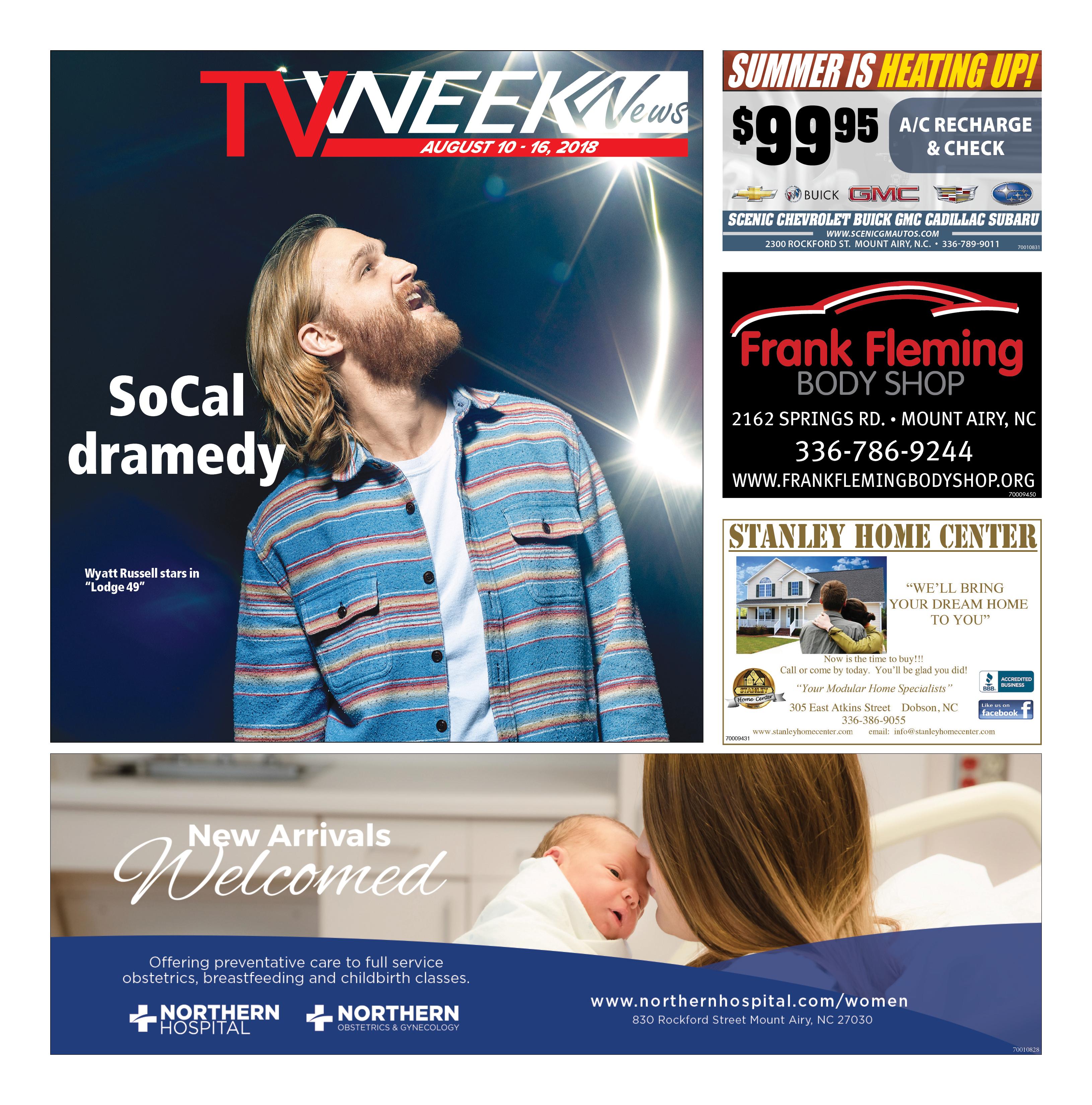 TV WEEK News August 10-16, 2018
