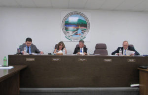 Town manager to stay, roads to be paved