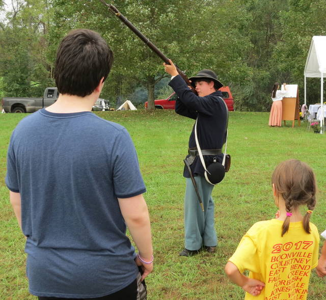 History breaks out at encampment | Mt  Airy News