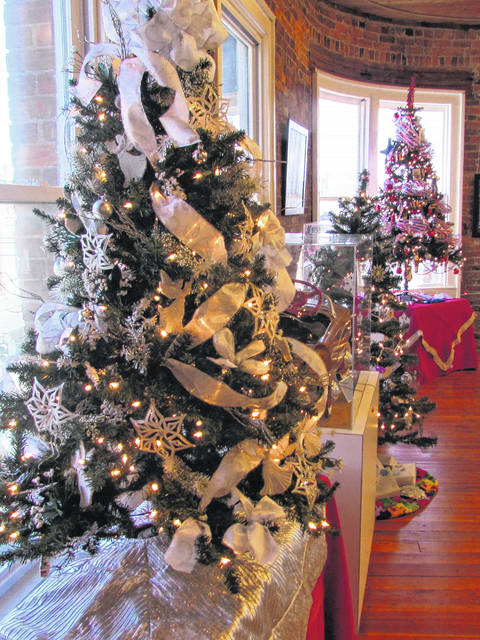 pictured are some of the decorated christmas trees which were auctioned at the parenting path formerly surry scans parade of trees auction in 2017 - All Ready Decorated Christmas Trees