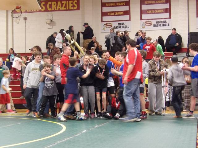 Pats Wrestling Wins Fh Conference Mt Airy News