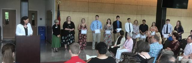 33 county students receive scholarships | Mt  Airy News