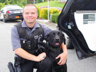 Pilot police add furry new officer
