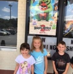 White Plains students go to the movies