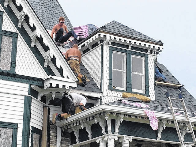 Allen House roof repairs complete | Mt. Airy News