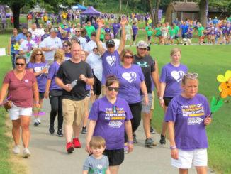 Walk to end Alzheimer's Saturday