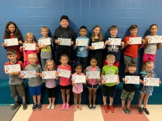 Cedar Ridge leaders of the month