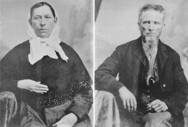 Charity Childress (1834-1910) and William Griffith (1833-1895), Andy Griffith's father's grandparents, were the generation to bring the family off the farm. Bill was a blacksmith in Mount Airy, leaving behind the land the family had farmed since Benjamin Griffith's land grant in 1786 south of town near Stewarts Creek.