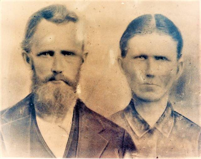 Henry Clayton Taylor (1842-1900) and Rebecca Ann Simmons (1848-1923), Andy's great-grandparents, were Quakers, and lived in the Westfield community of Surry County from the early 1800s. They are buried in the White Plains Friends Cemetery.