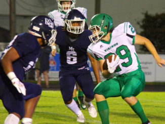 Bears open NW play with shutout 49-0