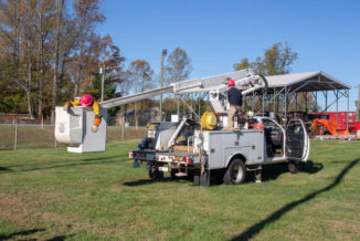 SCC students, electric coop officials hold rescue exercises