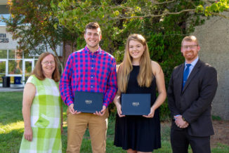 Credit union awards scholarships to 2 SCC students
