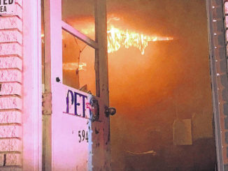 Fire strikes dairy products business