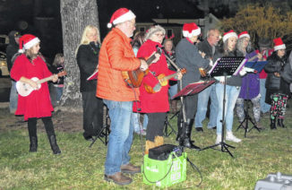 Festive fun featured at tree lighting