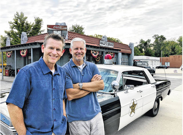 """Brothers Cort Howell, left, and Stark Howell, will be overseeing the production of the feature film, """"Mayberry Man."""" Cort, producer of the film, said the effort will launch its Kickstarter fundraising campaign Jan. 15 at The Loaded Goat in Mount Airy, beginning at 5:30 p.m."""