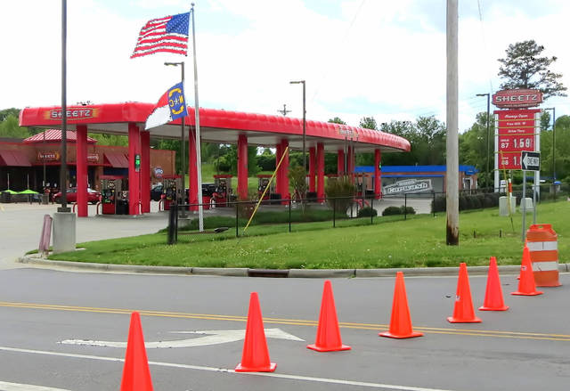 Elkin Sheetz Closed For Covid Cleansing