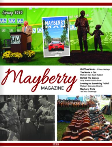 Revista Mayberry & # 8211;  Primavera 2020