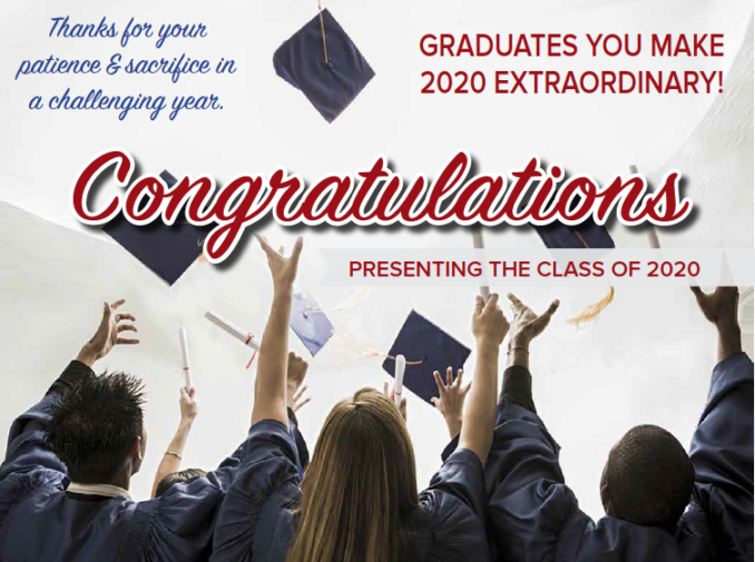 Sección de graduación 2020
