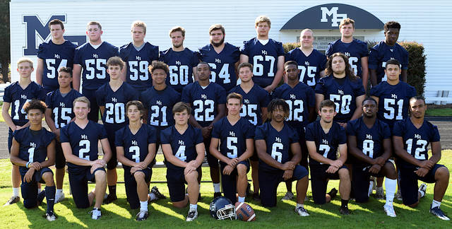 <p>Mount Airy players pose for a team picture prior to the 2019 season.</p> <p>News File Photo</p>