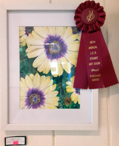Local residents claim art show prizes