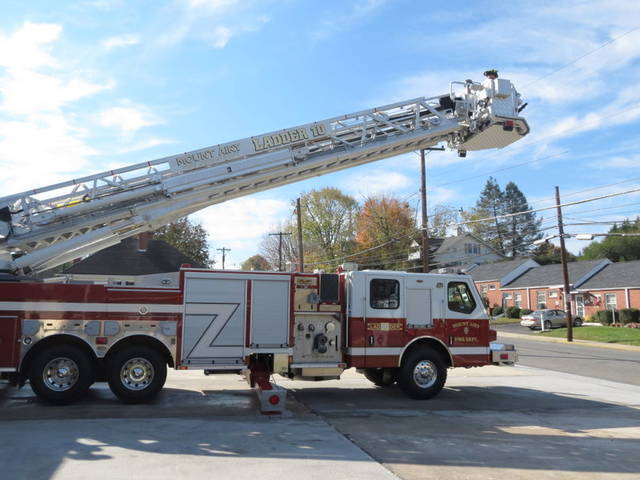 Funds received for damaged fire truck