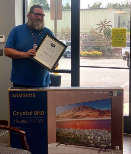 Local man honored with award