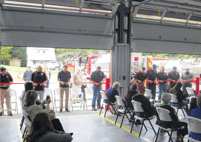 Fire department celebrates expansion
