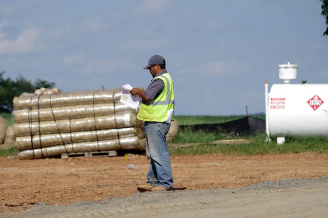 <p>Hayes Solar, which is leading the project, is still working on the financing for the farm with the USDA.</p> <p>Jeff Linville | The News</p>