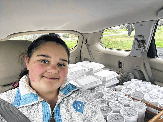 Pilot teen finds joy in helping others
